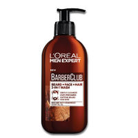 L'Oreal Paris Men Expert Barber Club Beard + Face + Hair 3-In-1 Wash
