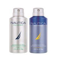 Nautica Classic & Voyage Deodorant Pack Of 2
