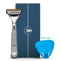 Letsshave Pro 4 Shaving Razor for Men (1 Razor + Razor Cap)