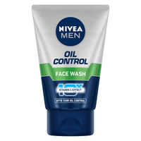 NIVEA MEN Face Wash Oil Control - 10x Vitamin C