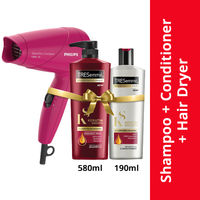 TRESemme Keratin Smooth Shampoo & Conditioner Combo Pack + Philips Hair Dryer