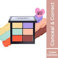 Nykaa SKINgenius Conceal & Correct Palette - Correct & Contour
