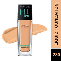Maybelline New York Fit Me Matte+Poreless Liquid Foundation - 230 Natural Buff