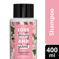 Love Beauty & Planet Murumuru Butter and Rose Aroma Blooming Colour Shampoo