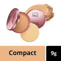Lakme 9 to 5 Primer + Matte Powder Foundation Compact - Rose Silk