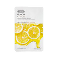 The Face Shop Real Nature Lemon Face Mask