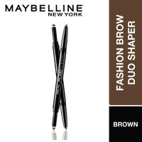 Maybelline New York Fashion Brow Duo Shaper - Brown