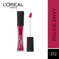 L'Oreal Paris Infallible Pro Matte Gloss - 312 Rouge Envy
