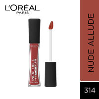 L'Oreal Paris Infallible Pro Matte Gloss - 314 Nude Allude