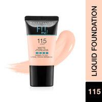 Maybelline New York Fit Me Matte + Poreless Liquid Foundation Tube - 115 Ivory