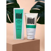 MensXP MUD BEGIN Natural Face Wash with Amazonian White Clay & Lemon