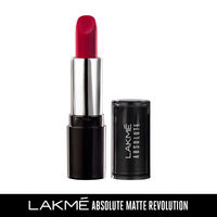 Lakme Absolute Matte Revolution Lip Color - 101 Bombshell Red