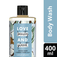 Love Beauty & Planet Coconut Water and Mimosa Flower Aroma Radical Refresher Body Wash