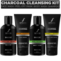 Spruce Shave Club Charcoal Cleansing Kit