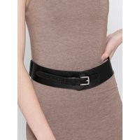 Twenty Dresses The Sassy Stride Black Waist Belt (Free Size)
