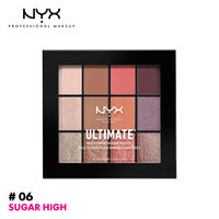 NYX Professional Makeup Ultimate Multi-Finish Shadow Palette - Sugar High