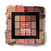 NYX Professional Makeup Ultimate Multi-Finish Shadow Palette - Warm Rust