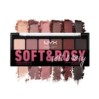NYX Professional Makeup Soft & Rosy Shadow Eyeshadow Palette