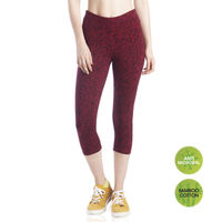 Lavos Bamboo Cotton Sangaria Space Yoga Capri