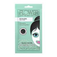 Flower Beauty Power Up! Sheet Mask - Revitalizing