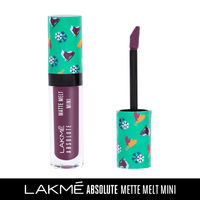 Lakme Absolute Matte Melt Mini Liquid Lip Color - Purple Tourist