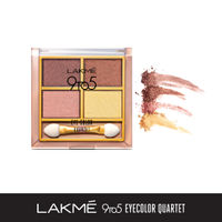 Lakme 9 To 5 Eye Quartet Eyeshadow - Desert Rose