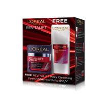 L'Oreal Paris Revitalift Laser X3 Day Cream With Revitalift Milky Cleansing Foam Free