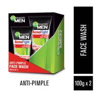 Garnier Men Acno Fight Anti-Pimple Facewash ( Pack of 2 )