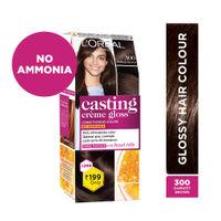 L'Oreal Paris Casting Creme Gloss Hair Colour Mini - 300 Darkest Brown