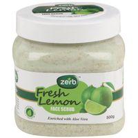 Zerb Fresh Lemon Face Scrub