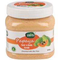 Zerb Papaya Face Body Scrub