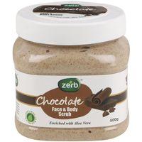 Zerb Chocolate Face & Body Scrub
