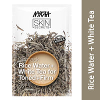 Nykaa Skin Secrets Rice Water + White Tea Sheet Mask