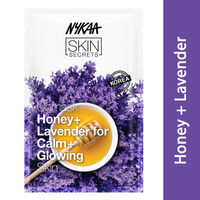 Nykaa Skin Secrets Honey + Lavender Sheet Mask