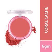 Biotique Natural Makeup Starstruck Matte Blush - Coral Cache