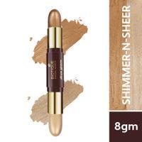 Biotique Natural Makeup Diva Glam Duo Stick - Shimmer-N-Sheer!