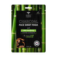 Bombay Shaving Company Charcoal Face Sheet Mask