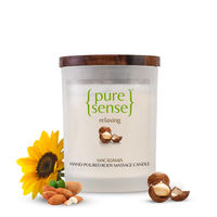 PureSense Macadamia Relaxing Hand Poured Body Massage Candle