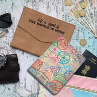 Doodle Globetrotter Planner With Card And Pen Holder, With Jacket