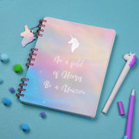 Doodle Collection Unicorn Notebook