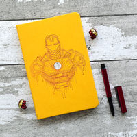 Doodle Collection Iron Man (Invincible) Notebook
