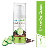 Mamaearth Under Eye Crème With Cucumber & Coffee