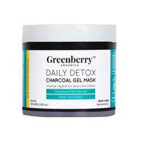 Greenberry Organics Daily Detox Charcoal Massage Gel Mask