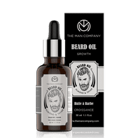 The Man Company Almond & Thyme Beard Oil