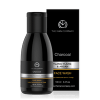 The Man Company Charcoal Face Wash With Ylang-Ylang & Argan