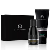 The Man Company Gift Set Anti Pollution Combo (Charcoal Scrub + Charcoal Face Wash)