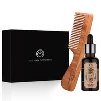 The Man Company Gift Set Smooth Beard Pack (Argan Beard Oil + Small Beard Comb