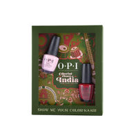 O.P.I Colorful Chaos of India - Show me your 'Color-Kaari' Set of 2 Nail Polish