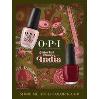 O.P.I Colorful Chaos of India - Show me your 'Color-Kaari' Set of 2 Nail Polish
