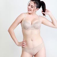 Makclan Charmer Cinderella Lace Lingerie Set - Nude